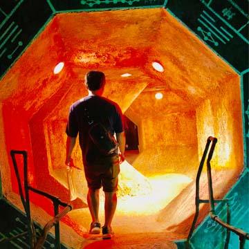 ウェアハウス川崎内の洞窟の写真