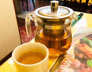 青海星のお茶の写真