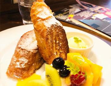 チルルコーヒーのフレンチトーストの写真
