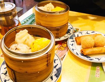 青海星の飲茶セットの写真