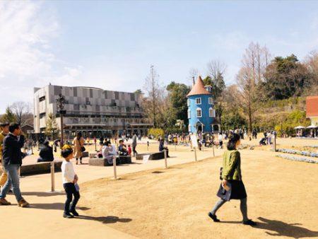 ムーミンパークの景色写真