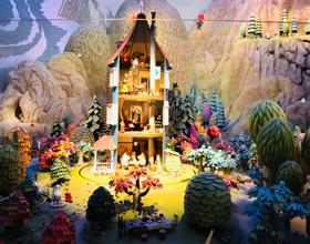 ムーミンの家のジオラマの写真