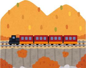 列車のイラスト
