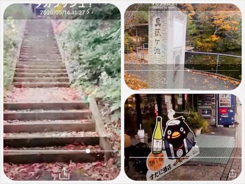 山代温泉の景色いろいろの写真