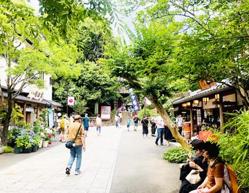 深大寺参道の写真