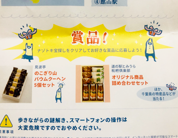 賞品紹介の写真