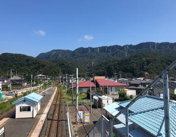 浜金谷駅の写真