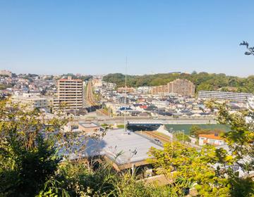 藤沢の遠景写真