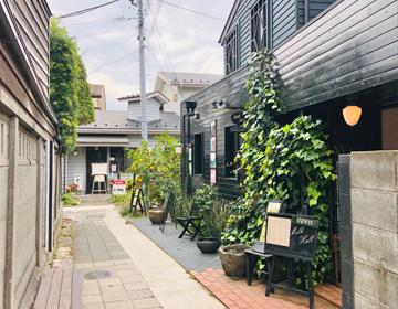 あじさい甘味堂(小町通りの脇道)写真