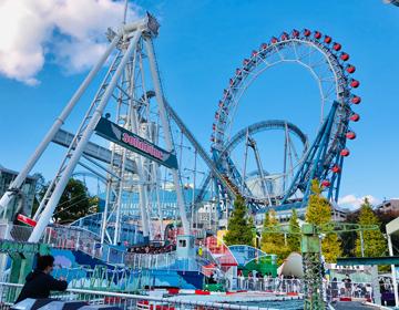 グリードアイランド遊園地脱出「東京ドームアトラクションズ近影」写真