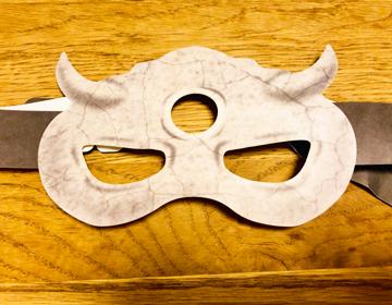 約ネバ脱出「鬼の仮面」の写真