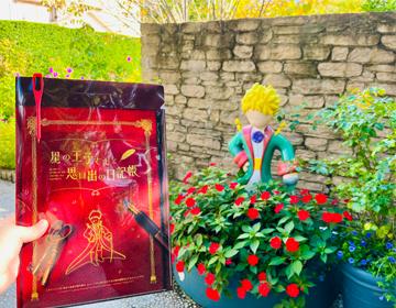 星の王子さまと思い出いの日記帳「謎解きキット」の写真